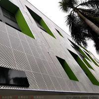 外墙雕花铝单板潮流时尚 建筑内外墙装饰材料冲孔造型铝板厂家