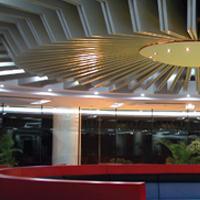 吊顶天花弧形铝方通 弧形铝方通建筑内外墙装饰材料