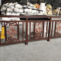 湖南铝艺阳台栏杆制作 别墅铝艺阳台栏杆安装