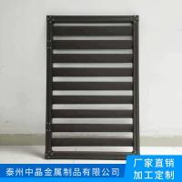 锌钢阳台栏杆厂家推出批量新款实惠空调百叶窗安装