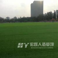 白山黑色背胶仿真草坪双色足球比赛专用人造草坪厂家直销