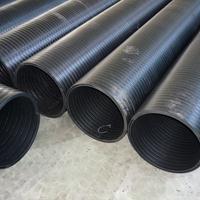 大口径排污管pe中空壁排水管生产厂家