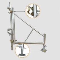 移动脚手架稳固件三角架斜支撑施工更安全更方便快捷
