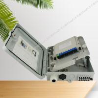 8路光分路器箱安装图片及介绍