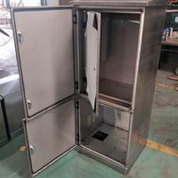 厂家不锈钢电力机柜设备配电箱外壳加工钣金来图来样