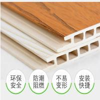 北京竹木纤维集成墙面 环保快装墙板全国发货
