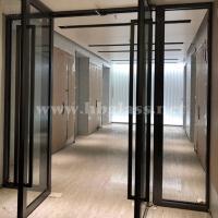 济南市  甲级乙级钢制防火玻璃门  定制批发安装施工