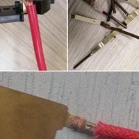 黄铜端子与多股线束超声波金属点焊接机