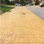 混凝土压花地坪、南京艺术压花、水泥压模地坪